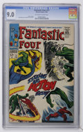 Silver Age (1956-1969):Superhero, Fantastic Four #71 (Marvel, 1968) CGC VF/NM 9.0 Off-white to white pages....