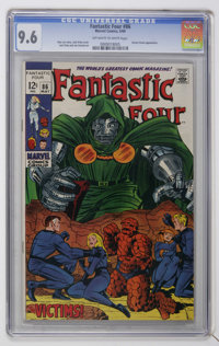 Fantastic Four #86 (Marvel, 1969) CGC NM+ 9.6 Off-white to white pages