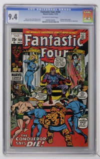 Fantastic Four #104 (Marvel, 1970) CGC NM 9.4 Off-white to white pages