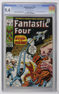 Bronze Age (1970-1979):Superhero, Fantastic Four #114 (Marvel, 1971) CGC NM 9.4 Off-white to white pages....