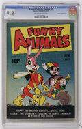Golden Age (1938-1955):Funny Animal, Fawcett's Funny Animals #7 Crowley Copy/File Copy (Fawcett, 1943)CGC NM- 9.2 Cream to off-white pages....