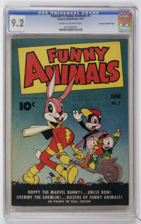 Fawcett's Funny Animals #7 Crowley Copy/File Copy (Fawcett, 1943) CGC NM- 9.2 Cream to off-white pages