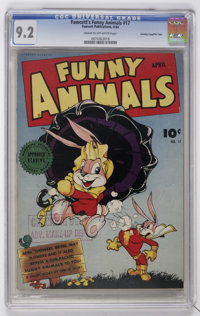 Fawcett's Funny Animals #17 Crowley Copy/File Copy (Fawcett, 1944) CGC NM- 9.2 Cream to off-white pages