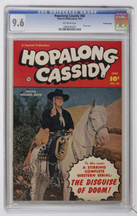 Hopalong Cassidy #68 Crowley Copy pedigree (Fawcett, 1952) CGC NM+ 9.6 Off-white pages