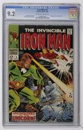 Iron Man #4 (Marvel, 1968) CGC NM- 9.2 Off-white to white pages