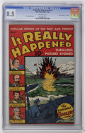 """Golden Age (1938-1955):War, It Really Happened #2 Davis Crippen (""""D"""" Copy) pedigree (Wm. H. Wise & Co., 1944) CGC VF+ 8.5 Off-white pages...."""