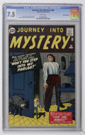 Silver Age (1956-1969):Horror, Journey Into Mystery #80 White Mountain pedigree (Marvel, 1962) CGC VF- 7.5 White pages....