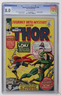 Journey Into Mystery #108 (Marvel, 1964) CGC VF 8.0 Cream to off-white pages