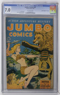 "Golden Age (1938-1955):Adventure, Jumbo Comics #62 Davis Crippen (""D"" Copy) pedigree (Fiction House, 1944) CGC FN/VF 7.0 Off-white pages...."