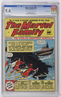The Marvel Family #55 Crowley Copy pedigree (Fawcett, 1951) CGC NM 9.4 Cream to off-white pages