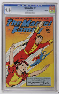 The Marvel Family #60 Crowley Copy pedigree (Fawcett, 1951) CGC NM 9.4 Off-white pages