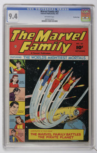 The Marvel Family #63 Crowley Copy pedigree (Fawcett, 1951) CGC NM 9.4 Off-white pages