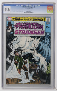 The Phantom Stranger #8 (DC, 1970) CGC NM+ 9.6 White pages