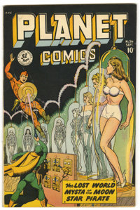 Planet Comics #56 (Fiction House, 1948) Condition: VF