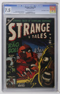"Strange Tales #19 Davis Crippen (""D"" Copy) pedigree (Marvel, 1953) CGC VF- 7.5 Cream to off-white pages"