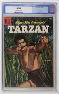 Tarzan #84 (Dell, 1956) CGC NM- 9.2 Off-white to white pages