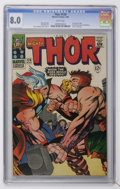 Silver Age (1956-1969):Superhero, Thor #126 (Marvel, 1966) CGC VF 8.0 White pages....