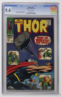 Thor #141 (Marvel, 1967) CGC NM 9.4 Off-white pages