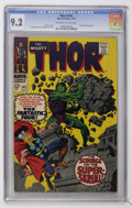Silver Age (1956-1969):Superhero, Thor #142 (Marvel, 1967) CGC NM- 9.2 Off-white to white pages....
