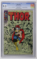 Silver Age (1956-1969):Superhero, Thor #154 (Marvel, 1968) CGC NM- 9.2 Off-white to white pages....