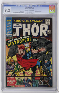 Thor King-Size Special #2 (Marvel, 1966) CGC NM- 9.2 Off-white to white pages