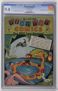 "Golden Age (1938-1955):Funny Animal, Tiny Tot Comics #2 Davis Crippen (""D"" Copy) pedigree (EC, 1946) CGC VF/NM 9.0 Off-white pages...."
