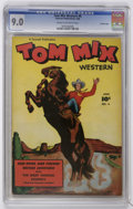 Golden Age (1938-1955):Western, Tom Mix Western #6 Crowley Copy pedigree (Fawcett, 1948) CGC VF/NM 9.0 Cream to off-white pages....