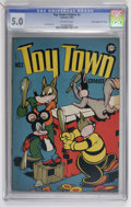"Golden Age (1938-1955):Funny Animal, Toy Town Comics #2 Davis Crippen (""D"" Copy) pedigree (Toytown , 1945) CGC VG/FN 5.0 Off-white pages...."