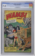 "Golden Age (1938-1955):Adventure, Wambi the Jungle Boy #5 Davis Crippen (""D"" Copy) pedigree (Fiction House, 1949) CGC FN/VF 7.0 Cream to off-white pages...."