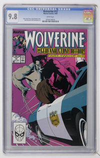 Wolverine #12 (Marvel, 1989) CGC NM/MT 9.8 White pages