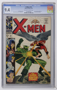 X-Men #29 (Marvel, 1967) CGC NM 9.4 Off-white to white pages