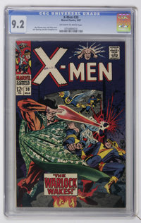 X-Men #30 (Marvel, 1967) CGC NM- 9.2 Off-white to white pages