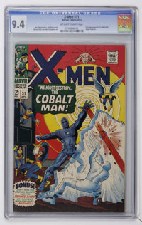 X-Men #31 (Marvel, 1967) CGC NM 9.4 Off-white to white pages
