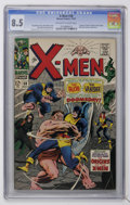 Silver Age (1956-1969):Superhero, X-Men #38 (Marvel, 1967) CGC VF+ 8.5 Off-white to white pages....