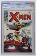 Silver Age (1956-1969):Superhero, X-Men #49 (Marvel, 1968) CGC NM 9.4 Off-white pages....