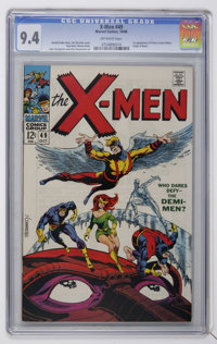 X-Men #49 (Marvel, 1968) CGC NM 9.4 Off-white pages