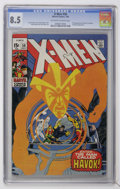 Silver Age (1956-1969):Superhero, X-Men #58 (Marvel, 1969) CGC VF+ 8.5 Off-white to white pages....