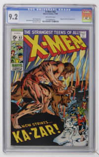 X-Men #62 (Marvel, 1969) CGC NM- 9.2 Off-white pages