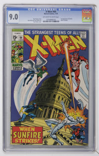 X-Men #64 (Marvel, 1970) CGC VF/NM 9.0 Off-white to white pages