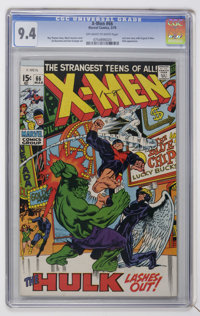 X-Men #66 (Marvel, 1970) CGC NM 9.4 Off-white to white pages