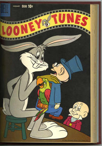 Looney Tunes and Merrie Melodies Comics #205-216 Bound Volume (Dell, 1958-59)
