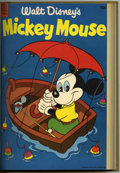 Golden Age (1938-1955):Funny Animal, Mickey Mouse #40-51 Bound Volume (Dell, 1955-57)....