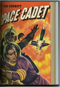 Tom Corbett Space Cadet #1-11 Bound Volume (Dell, 1952-54)