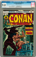 Bronze Age (1970-1979):Adventure, Conan the Barbarian #31 (Marvel, 1973) CGC NM/MT 9.8 Off-white to white pages....