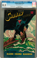 Golden Age (1938-1955):Crime, Shadow Comics V7#8 (Street & Smith, 1947) CGC VF+ 8.5 Cream to off-white pages....