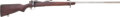Military & Patriotic:WWI, Springfield Model 1903 Bolt-Action Rifle Modified With a HeavyTarget Barrel....