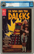 Silver Age (1956-1969):Science Fiction, Movie Classics - Dr. Who and the Daleks #nn Pacific Coast pedigree(Dell, 1966) CGC NM 9.4 Off-white to white pages....