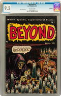 Golden Age (1938-1955):Horror, The Beyond #3 Bethlehem pedigree (Ace, 1951) CGC NM- 9.2 Off-whitepages....
