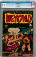 Golden Age (1938-1955):Horror, The Beyond #9 Bethlehem pedigree (Ace, 1952) CGC NM- 9.2 Off-whitepages....