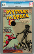 Silver Age (1956-1969):Science Fiction, Mystery in Space #78 (DC, 1962) CGC VF+ 8.5 Cream to off-white pages....